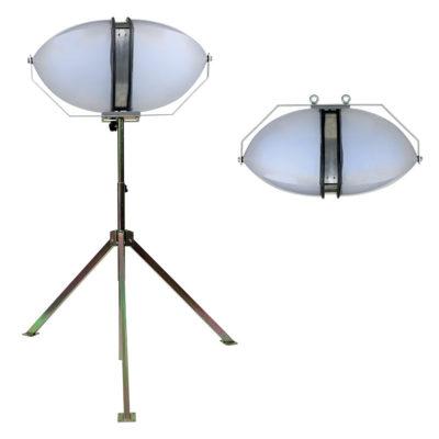 eclairage-omnidirectionnel-projecteur-240W-pied
