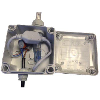 eclairage-ruban-LED-boite-raccordement