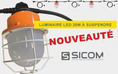 [NOUVEAUTÉ] Luminaire LED 20W modulable à souhait