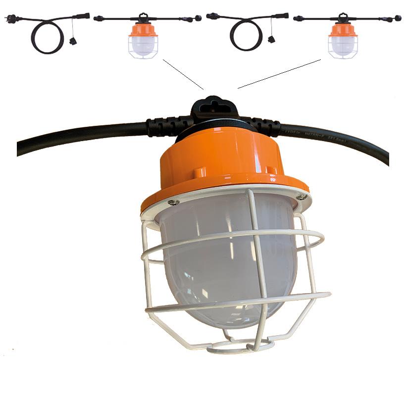 eclairage-omnidirectionnel-LED-luminaire-suspendu