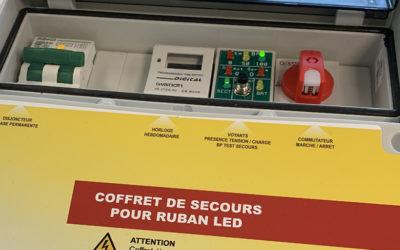 [NOUVEAUTÉ] Coffret de secours pour rubans LED