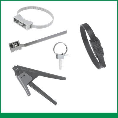Fixation câble, tube et conduit