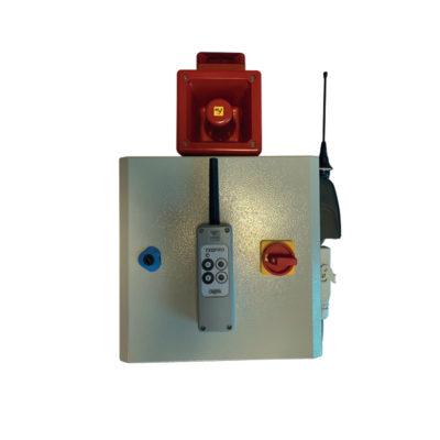 telecommande pour coffret alimentation pour ruban led avec sirene