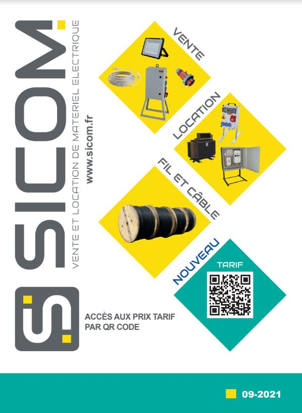 couverture catalogue sicom septembre
